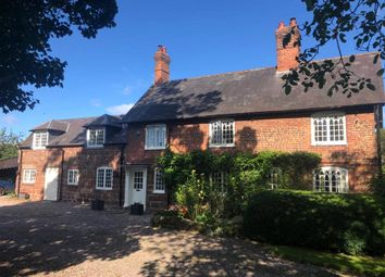 Thumbnail 4 bed detached house for sale in Village Road, Waverton, Chester