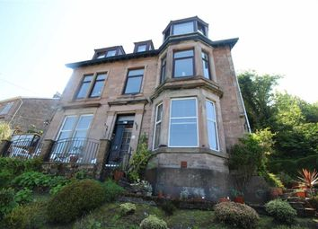Thumbnail 2 bed flat for sale in Victoria Road, Gourock