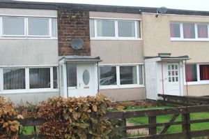 Thumbnail 2 bedroom terraced house for sale in Anwoth Avenue, Dumfries