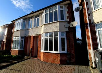 Thumbnail 3 bed semi-detached house to rent in Cromer Road, Ipswich