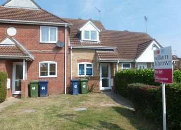Thumbnail 1 bedroom terraced house to rent in Admirals Drive, Wisbech