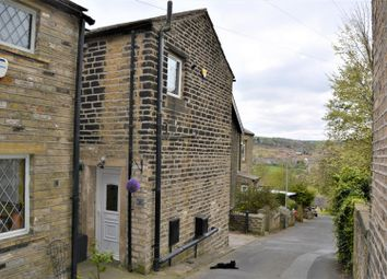 Thumbnail 1 bed terraced house for sale in Station Lane, Golcar, Huddersfield