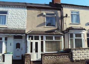 Thumbnail 2 bed terraced house to rent in Gladys Road, Bearwood, Smethwick