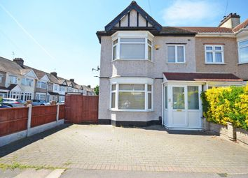 Thumbnail 4 bed end terrace house to rent in Birchdale Gardens, Chadwell Heath, Romford