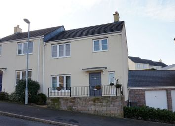 Thumbnail 3 bed semi-detached house for sale in Wadlands Meadow, Okehampton