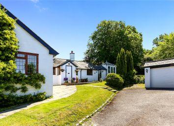 Thumbnail 4 bedroom detached bungalow for sale in Heath Lane, Ewshot, Farnham