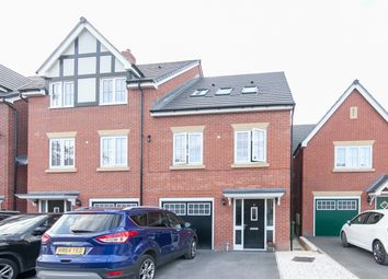 Thumbnail 3 bedroom town house for sale in Hornbeam Close, Stockport