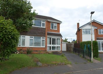 Thumbnail 3 bed semi-detached house for sale in Paterson Place, Shepshed, Leicestershire