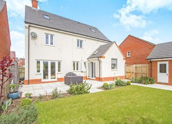 Thumbnail 5 bedroom detached house for sale in Masefield Place, Earl Shilton, Leicester