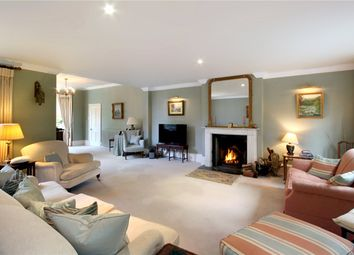 Thumbnail 6 bed detached house for sale in Chertsey Road, Windlesham, Surrey
