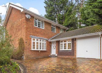 Thumbnail 4 bed detached house for sale in Beechwood Close, Church Crookham, Fleet, Hampshire