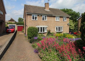 Thumbnail 3 bed semi-detached house for sale in Valley Rise, Barlow, Dronfield