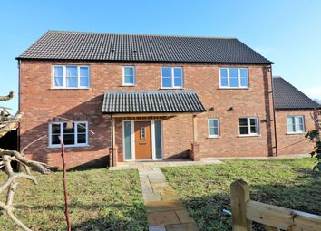 Thumbnail 4 bed detached house for sale in Hale Road, Necton