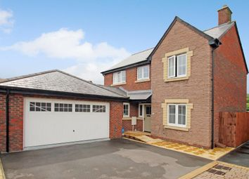 Thumbnail 4 bed detached house for sale in Croesonen Gardens, Abergavenny, Monmouthshire
