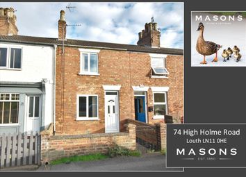 Thumbnail 2 bed terraced house for sale in High Holme Road, Louth