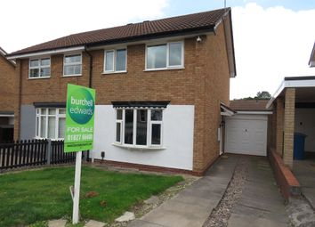 Thumbnail 3 bed semi-detached house for sale in Kestrel, Wilnecote, Tamworth