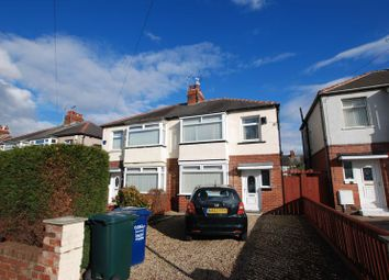 Thumbnail 3 bed semi-detached house for sale in Edgefield Avenue, Newcastle Upon Tyne