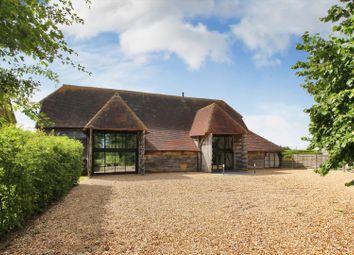 Hawkenbury Road, Hawkenbury, Tonbridge, Kent TN12. 4 bed barn conversion for sale