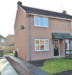 Thumbnail 2 bed semi-detached house to rent in Sandway Drive, Camblesforth, Selby