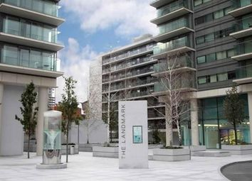 Thumbnail 2 bed flat to rent in Landmark Buildings, West Tower, 22 Marsh Wall, Canary Wharf