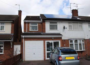 Thumbnail 4 bedroom semi-detached house for sale in Farmbrook Avenue, Fordhouses, Wolverhampton