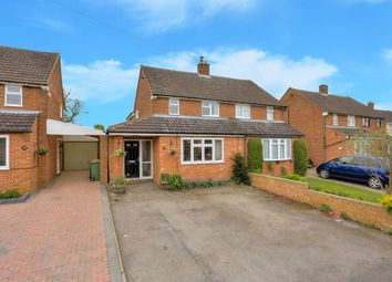 Thumbnail 3 bed semi-detached house for sale in Fairgreen Road, Caddington, Luton