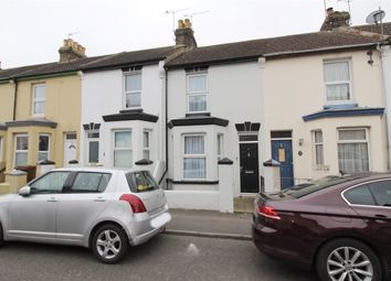 Thumbnail 2 bed terraced house for sale in King Edward Road, Gillingham, Kent.