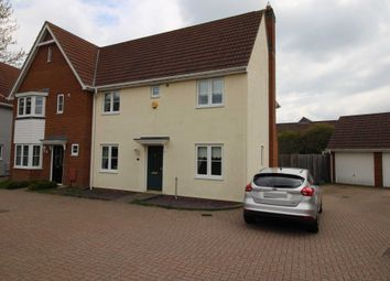 Thumbnail 3 bed semi-detached house to rent in Rowan Way, Dunmow