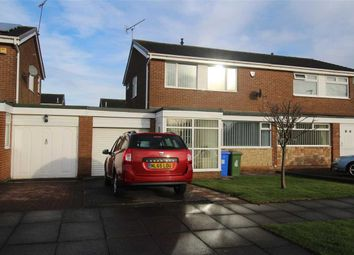 Thumbnail 3 bed semi-detached house for sale in Windburgh Drive, Southfield Lea, Cramlington