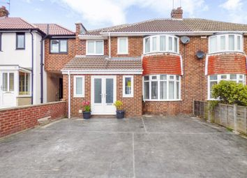 Thumbnail 4 bed semi-detached house for sale in Druridge Avenue, Sunderland