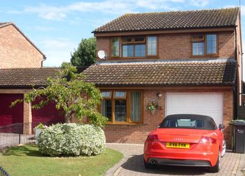 Thumbnail 4 bed detached house for sale in Pennine Close, Hereford