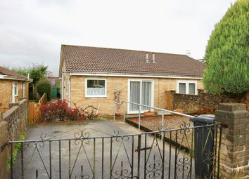 Thumbnail 2 bed semi-detached bungalow for sale in Monmouth Drive, Castle Park, Merthyr Tydfil