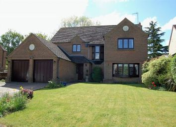 Thumbnail 4 bedroom detached house for sale in Stewart Close, Moulton, Northampton
