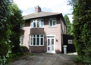 Thumbnail 3 bedroom semi-detached house to rent in Queens Road East, Beeston