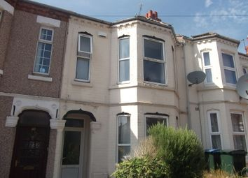 Thumbnail 4 bedroom terraced house to rent in Melville Road, Coventry