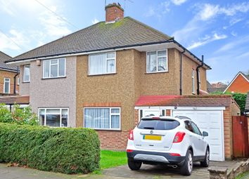 Thumbnail 3 bed semi-detached house for sale in Bassetts Close, Farnborough, Orpington