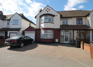 Thumbnail 4 bed semi-detached house for sale in Whalebone Lane North, Chadwell Heath, Essex