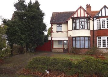 Thumbnail 3 bed semi-detached house to rent in Highfield Road, Hall Green, Birmingham