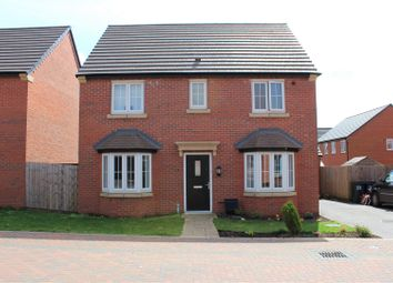 Thumbnail 4 bed detached house for sale in St. John Cole Crescent, Stanton Under Bardon, Markfield