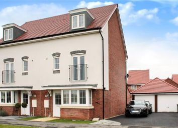 Thumbnail 4 bed semi-detached house for sale in Benjamin Gray Drive, Littlehampton