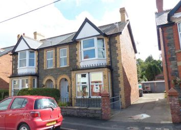 Thumbnail 4 bed semi-detached house for sale in Irfon Road, Builth Wells, 3De.