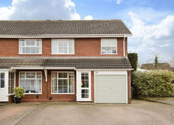 Thumbnail 3 bed semi-detached house for sale in Norwich Close, Lichfield