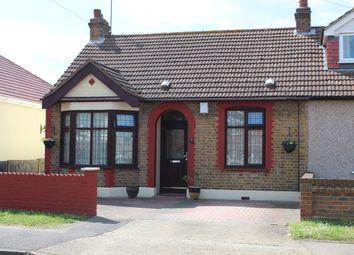 Thumbnail 2 bedroom semi-detached bungalow for sale in Spencer Road, Rainham, Essex