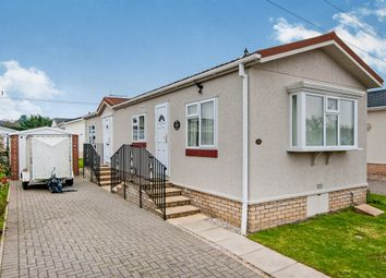 Thumbnail 2 bed mobile/park home for sale in The Firs, Rushbrooke Lane, Bury St. Edmunds