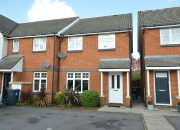 Thumbnail 3 bed end terrace house for sale in Charles Babbage Close, Chessington