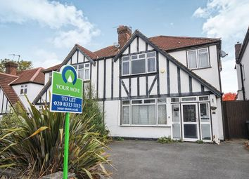 Thumbnail 3 bed semi-detached house to rent in Rochester Avenue, Bromley