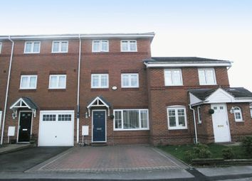 Thumbnail 4 bedroom terraced house for sale in Dudley, Netherton, Purlin Wharf