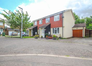 Thumbnail 3 bedroom semi-detached house for sale in Morden Road, Papworth Everard, Cambridge