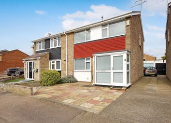 Thumbnail 3 bed semi-detached house for sale in Halt Drive, Linford, Stanford-Le-Hope