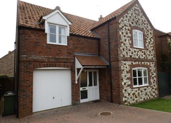 Thumbnail 4 bedroom detached house to rent in Mill View, Sedgeford, Hunstanton